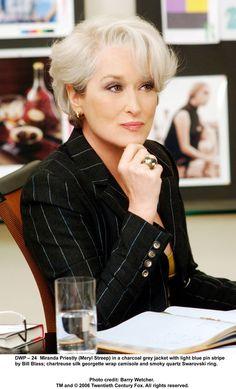 Meryl Streep - The Devil Wears Prada she is one of my favorites...that is all :)