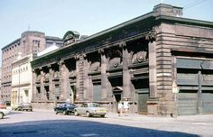The Fruitmarket Building Bell Street - August 1975 by Gordon Waddell, via Flickr