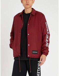 083c8a44fd71 CK Calvin Klein Rubber-patch cotton-jersey T-shirt