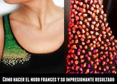 enrHedando: Como bordar el nudo frances