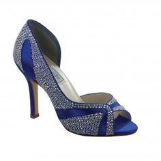 AUTUMN-430 Women High-Heel Pumps - Royal Blue