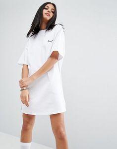 """Трикотажное платье с вышивкой """"Homegirl"""" ASOS"""