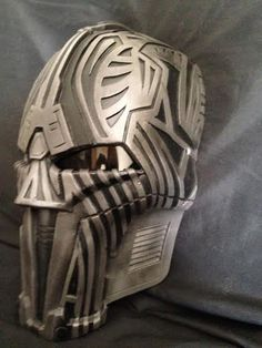 Acolyte Custom Mask Star Wars Cosplay Armor Prop by lionsdendc