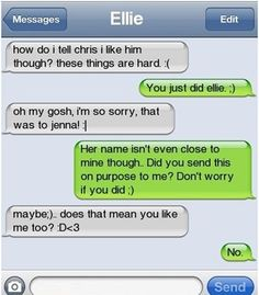 The Web Babbler: Funny Texts #23