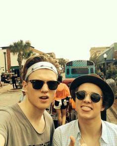 Brad and Tristan!!