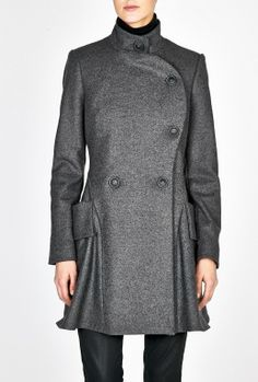 Curved Profile Coat by Vivienne Westwood Anglomania