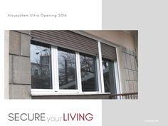 Τοποθέτηση ενεργειακών κουφωμάτων αλουμινίου Alousystem Ultra Windows, Window