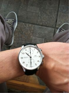 IWC Portuguese Love this watch, simple, clean and beautiful .