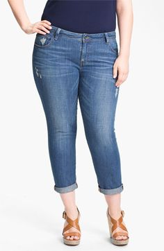 Lucky Brand 'Ginger Weekender' Boyfriend Jeans (Plus Size) available at #Nordstrom