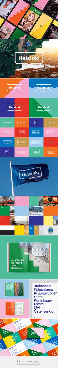 New Logo & Graphic Identity for Helsinki by Werklig — BP&O - created via https://pinthemall.net