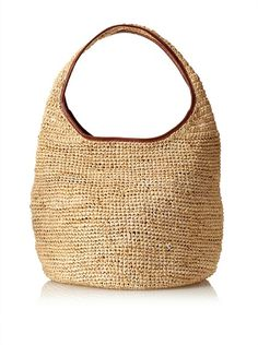 Off Florabella Women S Ciutadella Crochet Raffia Handbag