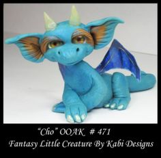 Fantasy Fairy Dragon Dollhouse Mini Art Doll Polymer Clay CDHM OOAK Iadr Cho Fae | eBay