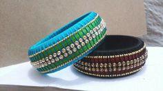 Very pretty double color bangles
