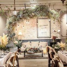 1日1組完全貸切のオリジナルウェディング Wedding Backdrop Design, Wedding Decorations, Wedding Table, Rustic Wedding, Korean Wedding, Event Planning Business, Gorgeous Wedding Dress, Minimalist Wedding, Simple Weddings