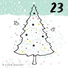 dottywrenstudio: Advent...day 23