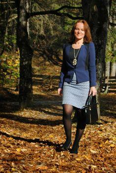 Mature women business attire