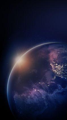 icu ~ La Terra Wallpaper by MrDecky - 67 - Free on ZEDGE™ in 2020 Wallpaper Earth, Planets Wallpaper, Apple Wallpaper, Galaxy Wallpaper, Iphone Wallpaper, Galaxy Planets, Galaxy Art, Cosmos, Wallaper Iphone