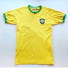 Love this retro Brazil 1970 World Cup tee 🇧🇷 #brazil #brasil #brazilianfootball #worldcup #worldcup1970 #football #footballshirt #tshirt #retro #retrofootball #retrotee #retrofootballshirt #vintage #vintagebrazil #vintagetshirt #vintagefootball #vintagefootballshirt #classickit #classicfootball #soccer #soccerjersey #70s #70svintage #70sfootball