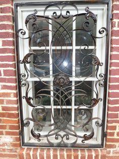 Friday Fotos: Burglar Bars? Decorative WindowsWrought IronWindows