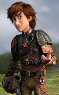 From Dreamwork's How to Train Your Dragon 2 and he is so cute boy