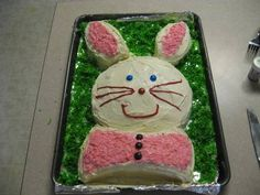 Finished Bunny Cake