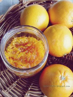 teraz-tarta.blogspot.com: Dżem z pomarańczy i skórka kandyzowana Grapefruit, Cantaloupe, Food, Pies, Meals, Yemek, Eten