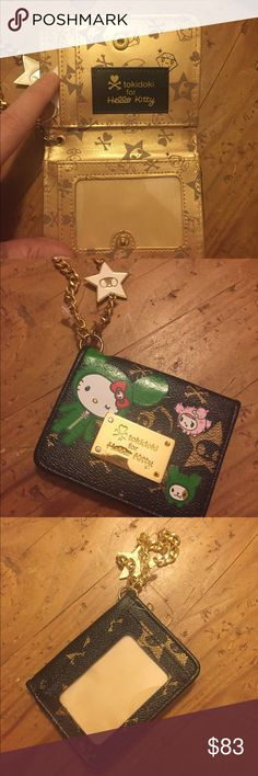 SUPER RARE Limited addition TokieDokie hello Kitty Super rare Limited addition small biscuit holder for hello kitty new without tags impossible to find anywhere! tokidoki Accessories Key & Card Holders