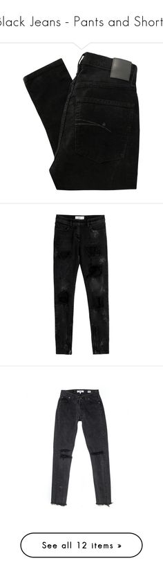 """""""Black Jeans - Pants and Shorts"""" by zakhx ❤ liked on Polyvore featuring black, jeans, pants, bottoms, trousers, zipper skinny jeans, super high-waisted skinny jeans, zipper jeans, high waisted jeans and high-waisted skinny jeans"""