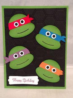 Teenage Mutant Ninja Turtles Birthday Card by valarie