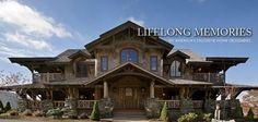 luxury mountain log homes bing images - Luxury Mountain Log Home Plans