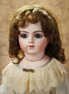 French Bisque Bebe by Bru with Splendid Eye and Signed Bru Shoes. Circa 1892. http://Theriaults.com