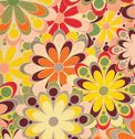 Go retro with colors reminiscent of the 70s! Create a timeless look with this fabric.
