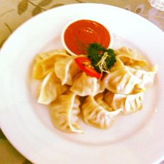 Popular nepalese food: Mo:Mo: