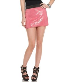 Pink sparkly skirt from Macy's