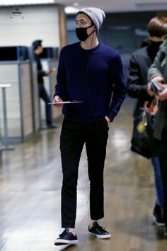 141204- EXO Oh Sehun; Hongkong Airport to Incheon Airport #exok #style #fashion