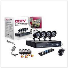 Kit videosorveglianza 4 telecamera - Audio/Video In vendita a Napoli