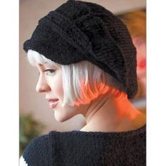 newsboy caps are HOT and this knitting pattern is right on trend. From Interweave. $3.50.