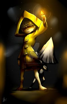 Little Nightmares by Smudgeandfrank Good Horror Games, Rpg Horror Games, Little Nightmares Fanart, Boboiboy Galaxy, Cosplay, Indie Games, Poses, Horror Art, Pose Reference