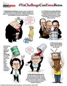 #YaChallengeConEstosRetos. Domingo 31 de agosto de 2014