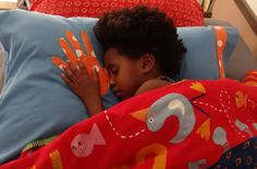 """What a cute idea! They can go to sleep """"holding hands"""" with their birth mom, foster mom, siblings, etc."""