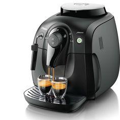 Saeco Vapore Cafetière Espresso Super Automatique XSmall - Noir