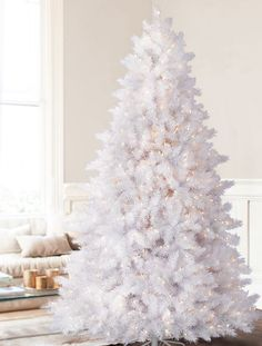 White Christmas Tree | These are the holidays I celebrate ...