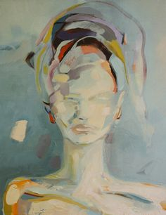 Art for The Fig House from Zoe Pawlak - Emily Henderson Art Moderne, Portrait Art, Portraits, Face Art, Figurative Art, Oeuvre D'art, Contemporary Artists, Painting Inspiration, Les Oeuvres