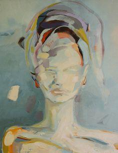 "Original oil by Zoe Paw Lak, ""Pursuit of You,"" 16""x20""  Sold"