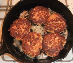 Salmon Patties or Croquettes
