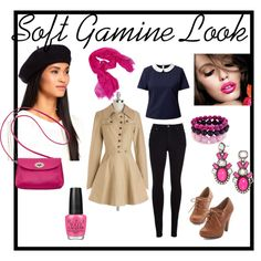 Soft Gamine Look for Spring/Autumn by commorragh on Polyvore