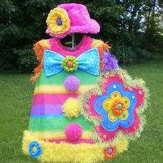 Girls Halloween Clown Costume -