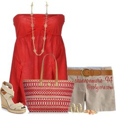 """""""Strapless  Sandals"""" by shannonmarie-94 on Polyvore"""