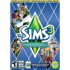 Any Sims 3 expansion pack (she already has the core program): Sims 3: Hidden Springs (PC/ Mac)