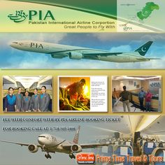 Fly With Comfort By PIA Airline Booking Ticket  Therefore PIA airline booking ticket system is present in many travel agencies in the country that can sell the tickets of the airline to the customers. The travelers need to visit the travel agencies and inquire them about the different packages offered by the PIA travel experts.   https://www.primetimetravelnyc.com/airlines/fly-with-comfort-by-pia-airline-booking-ticket/
